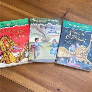 Magic Treehouse books